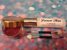 Red Lip & eye glitter make up set incl. glitter, brush & body glue  Comic Relief