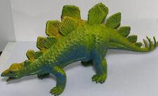 Vintage 1987 Dor Mei Stegosaurus Dinosaur Plastic Toy Figure Blue Yellow 10�