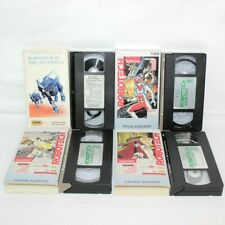 Robotech Vhs Video Lot of 4 Fhe Volume 1 2 3 Ii Sentinels Harmony Gold Animated