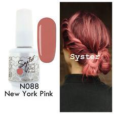 SYSTER 15ml Nail Art Soak Off Color UV Gel Polish UV Lamp N088 - New York Pink