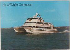 Postcard of an Isle of Wight catamaran