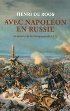 avec Napoléon en Russie Roos  Henri De Neuf Livre
