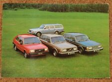 1980 VOLVO RAGE POSTCARD - Original Volvo Issued Postcard - 244 245 264 343