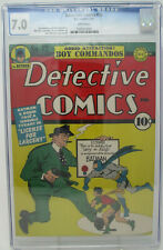 Detective Comics #72 ~ 1943 DC ~ CGC 7.0 FN/VF