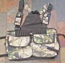 New Vest for Shooting, Hunting, Gun Dog Handlers, (Camo Colour) Vest,Work K9