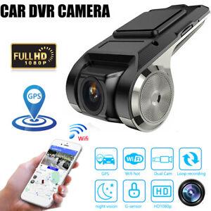 Wifi GPS Hidden Car DVR Camera Dash Cam Video Recorder Night Vision 1080P USA