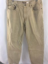Eddie Bauer Tan Jeans 34X31 Relaxed Dungarees Denim Wester Classic