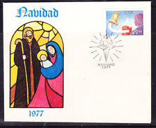 Chile 1977 Christmas First Day Cover Unaddressed