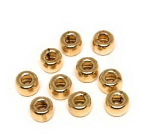 14kt yellow gold filled rondelle beads 5mm