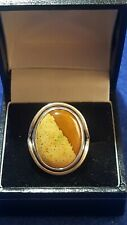 Silver 925 Agate Ladies Ring