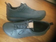 ECCO Men's Biom Hybrid 3 Gore-Tex Golf Shoe Grey/Fire Yak Leather-US 10.5W EU44W