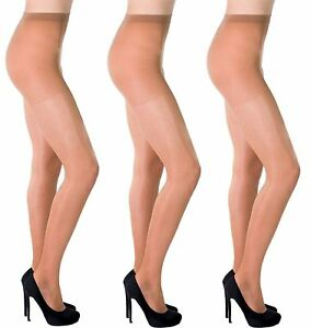 Transparent Skin Colors Pantyhose 20 den Shade of Nude Aurellie 3 Packs