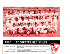 1966 ROCHESTER RED WINGS TEAM  8X10 PHOTO BELANGER MAY  BASEBALL NEW YORK