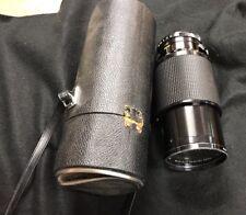 Vivitar Series 1 70-210MM, 1:3.5 67mm, Macro Focusing Auto Zoom