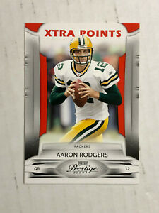 AARON RODGERS 2009 Playoff Prestige XTRA POINTS RED SP 057/100! PACKERS! INVEST!