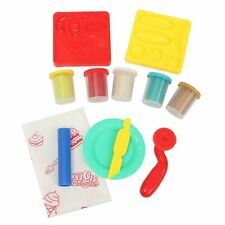 Play Dough Kids Set ROLLING PIN ROLLER CUTTER DOH Craft Cucina Impasto Play