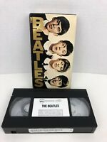 The Beatles Documentary VHS movie Tape Burbank Video 60 minutes RARE