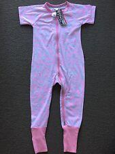 Bonds Seahorse Sparkle Seashells short sleeve long leg Zippy Wondersuit Size 2