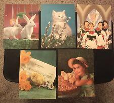 Vintage Spring Prints (includes bunnies, chicks, kitten, & choir scene)