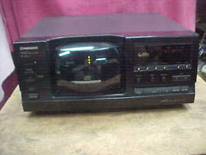 Pioneer PD-F906 Compact Disc Player 101 CD Changer Tested Working NO REMOTE