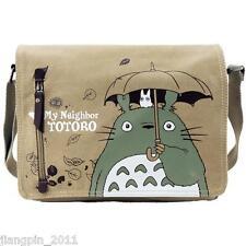 2016 Anime My Neighbor Totoro Canvas Messenger Shoulder Bag schoolbag Collection