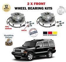 FOR JEEP COMMANDER 3.0 3.7 4.7 5.7 2005-2010 2X FRONT WHEEL BEARING HUB KIT SETS