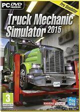 Truck Mechanic Simulator 2015 (PC DVD) NEW & Sealed - Despatched from UK