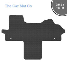 Fiat Ducato Walkthrough 2007+ Fully Tailored Rubber Van Mats With Grey Trim