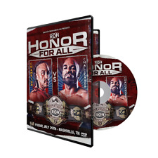 Official ROH Ring of Honor - Honor For All 2018 Event DVD