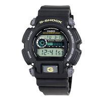 Casio Men's G-Shock Quartz Chronograph Black Resin 49Mm Watch Dw9052-1Bcg