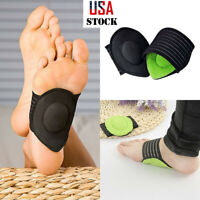 Foot Heel Pain Relief Plantar Fasciitis Insole Pads Arch Support Shoes Insert US