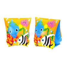 INFLATABLE SET FISH SWIMMING ARM BAND POOL FLOAT FLOATIE SWIM FLOATS AGE 3+