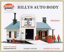 MODEL POWER BILLY'S AUTO BODY HO SCALE BUILDING KIT