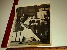 Rare Historical Orig VTG Le Ballets de Paris Colette Marchand Boiled Egg Photo