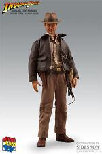 "Indiana Jones Harrison Ford 12"" Figur Medicom Toys 1/6 RAH Sideshow"