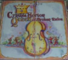 Cynthia Horton Queen Of Broken Rules CD *SEALED* Stand Up Bass