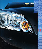 2007 Chevrolet Chevy Impala and SS 30-page Original Sales Brochure Catalog
