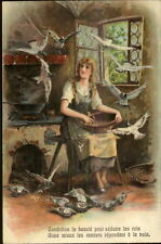Cinderella Fairy Tale French Subtitle PFB 8666 c1910 Postcard EXC COND