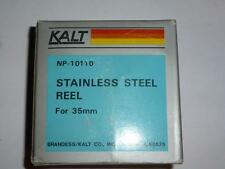 Kalt Stainless Steel Film Developing Reel NP-10110 35mm Darkroom Tank