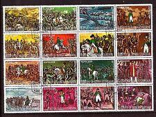 GUINEE EQUATORIAL Bloc 16T. NAPOLEON : ses batailles,son regne,sa vie .SP55
