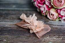 Haarblume Lotusblüte Braut Chiffon Blume AB 206