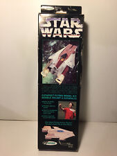 1996~ Star Wars~ A-Wing Fighter~ Catapult Flying Model Kit by Estes~ NEW