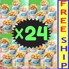 MAUNA LOA MACADAMIA NUTS MAUI ONION  - 24 (TWENTY-FOUR) - 4.5 oz cans - 7 LBS