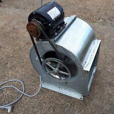 Blower Motor Amp Fan Housing Assembly 13hp Ac Motor Tested