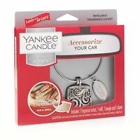 Yankee Candle Sparkling Cinnamon Scented Car Air Freshener Locket Refill Charm