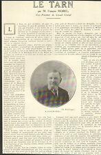 81 LE TARN ARTICLE DE PRESSE PAR FRANCOIS MOREL 1923