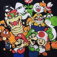 Authentic Nintendo Super Mario Shirt. Size XL Luigi, Toad, Princess and all
