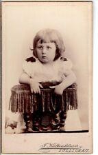 CDV Foto Niedliches kleines Mädchen - Züllichau Sulechów 1890er