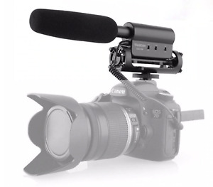 Takstar SGC-598 Condenser Video Recording Microphone for Nikon Canon Sony DSLR