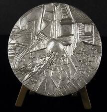 Medaille  1925-1975 Vitry 50 ans de gestion communiste sc Charpin 68 mm medal